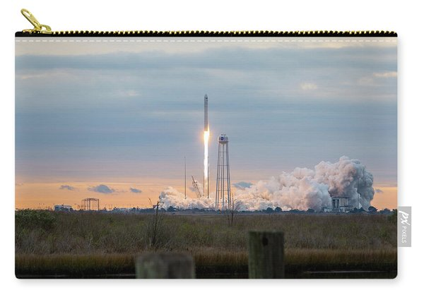Antares Launch From Wallops Island Carry-all Pouch