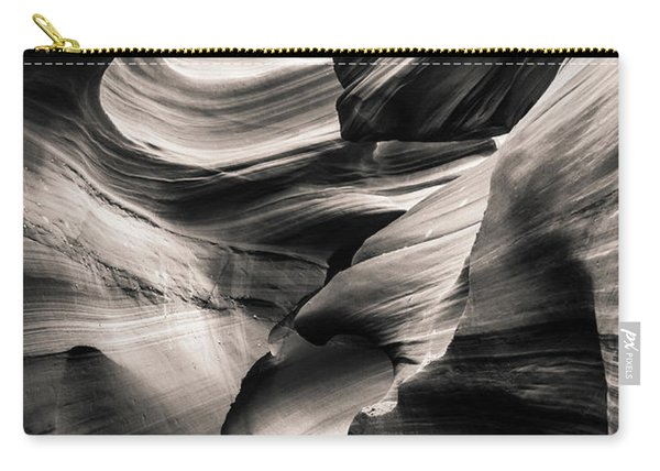Antelope Canyon Bw Carry-all Pouch