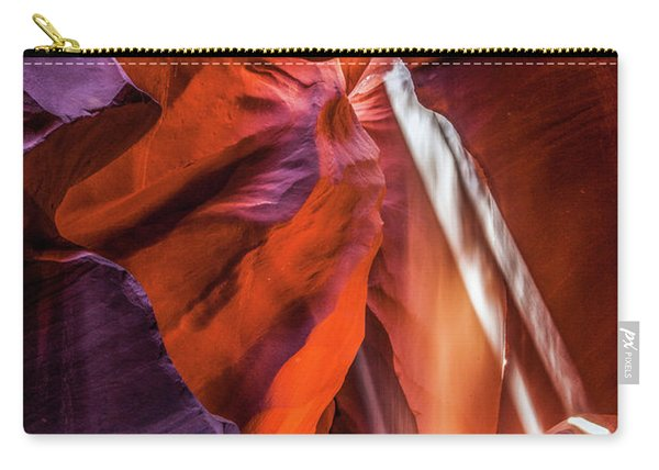 Antelope Canyon Lightshaft 3 Carry-all Pouch