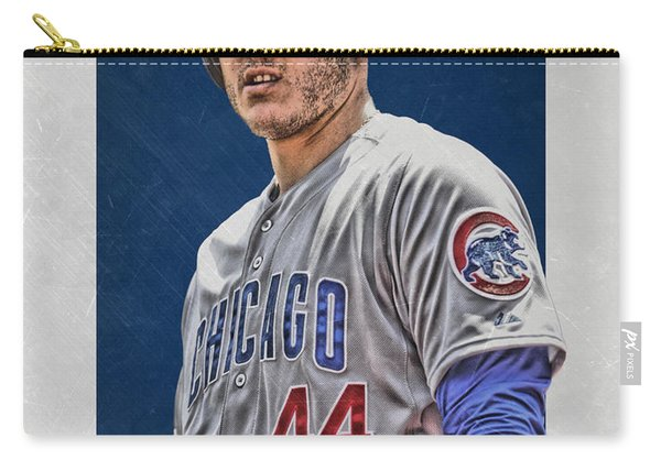 Anthony Rizzo Chicago Cubs 3 Carry-all Pouch