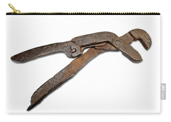 Antique Adjustable Plier Carry-all Pouch