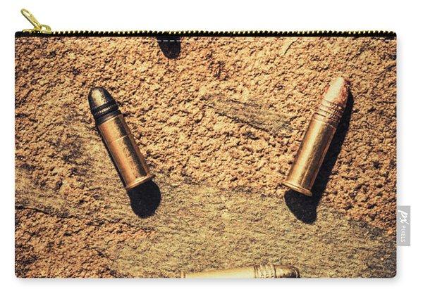 Antique Bullet Art Carry-all Pouch