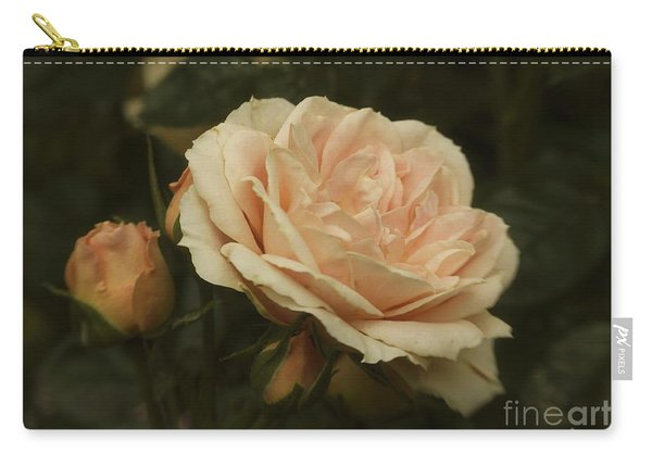 Antique English Rose Carry-all Pouch
