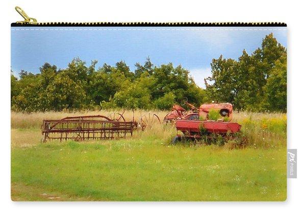 Antique Farm Equipment 2 Carry-all Pouch