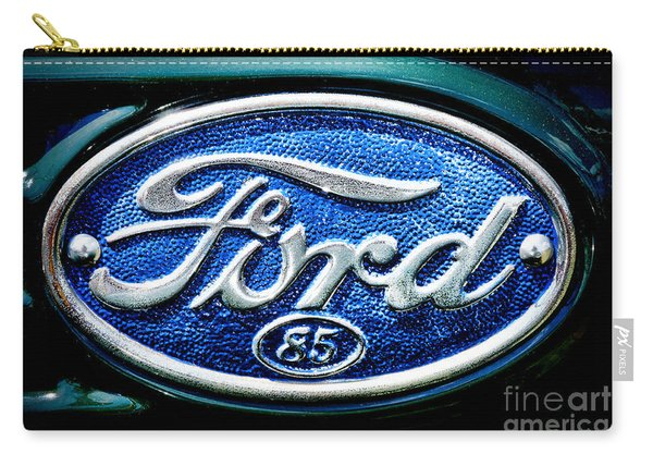 Antique Ford Badge Carry-all Pouch