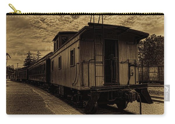 Antique Iron Range Caboose Carry-all Pouch