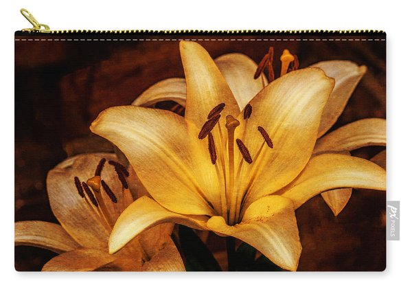 Antique Lilies Carry-all Pouch