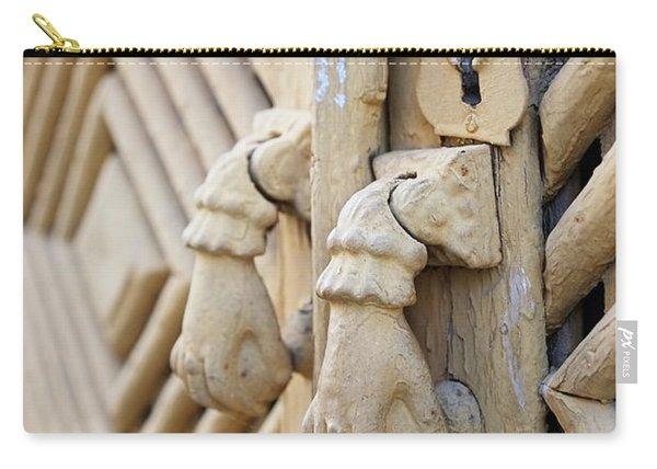 Antique Mediterranean Door-knocker Carry-all Pouch
