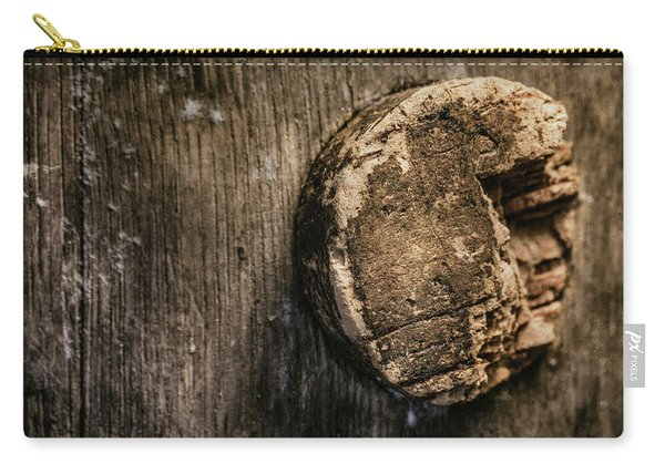 Antique Wine Barrel Cork Carry-all Pouch
