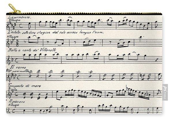 Antonio Vivaldi  The Four Seasons Carry-all Pouch