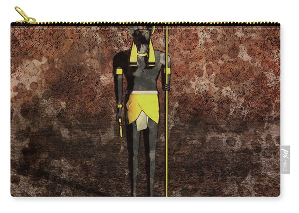 Anubis By Raphael Terra And Mary Bassett Carry-all Pouch