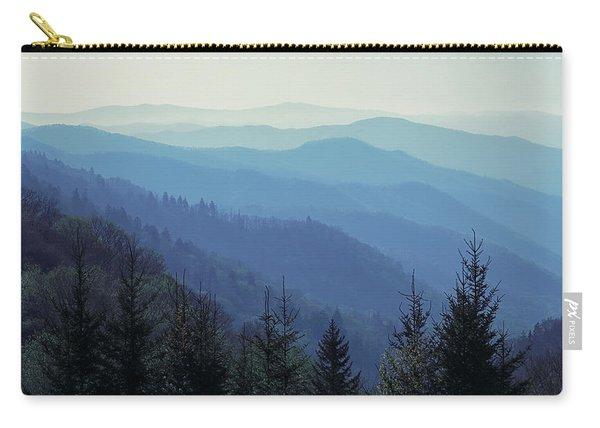 Appalachian Blue Carry-all Pouch