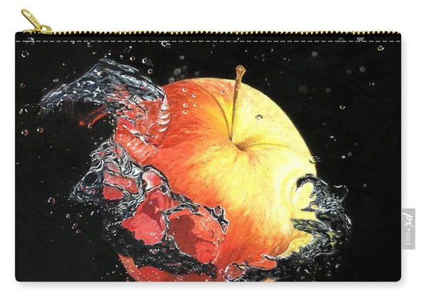 Apple And Bubbles Carry-all Pouch