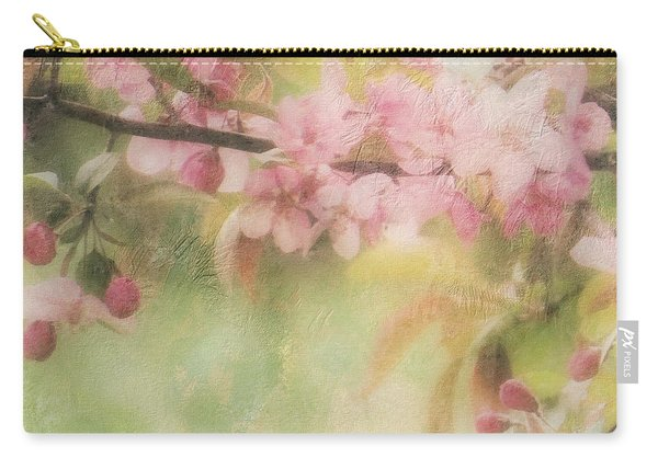 Apple Blossom Frost Carry-all Pouch