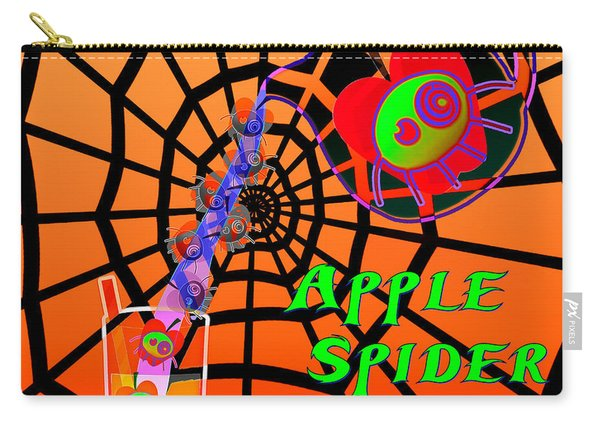 Apple Spider Anyone Carry-all Pouch