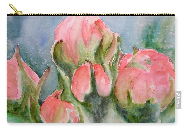 Apple Tree Buds Carry-all Pouch