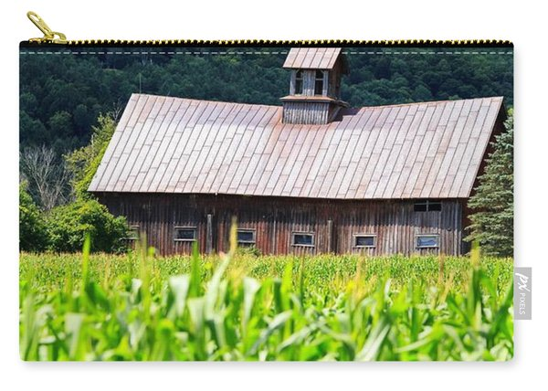 Approaching Storm Vermont Barn Carry-all Pouch