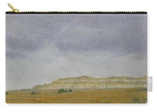 April In The Badlands Carry-all Pouch
