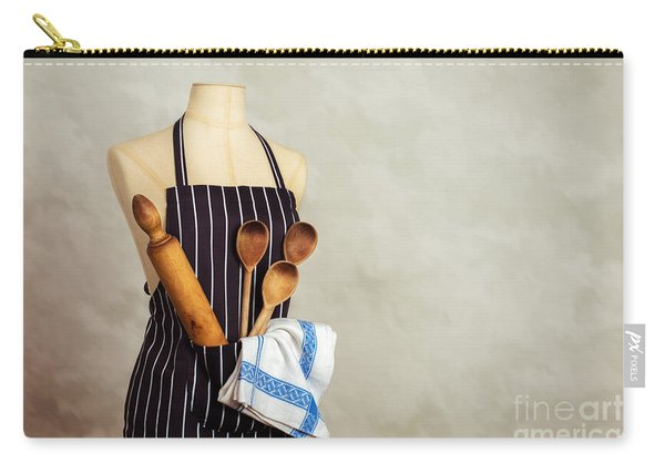 Apron And Baking Utensils Carry-all Pouch