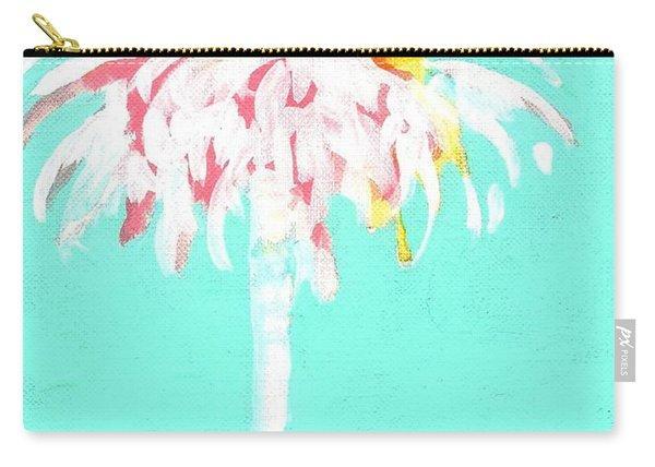 Aqua Marine Palm Carry-all Pouch