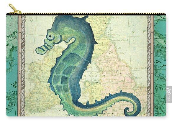 Aqua Maritime Seahorse Carry-all Pouch