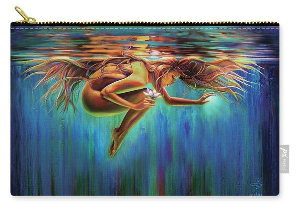 Aquarian Rebirth II Divine Feminine Consciousness Awakening Carry-all Pouch