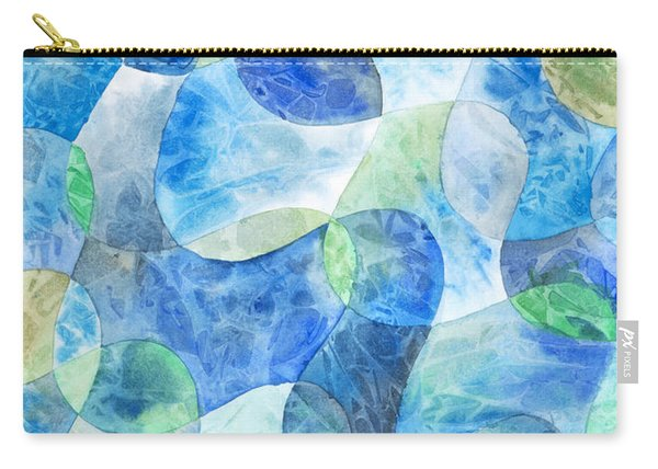Aquatic Watercolor Carry-all Pouch