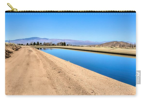 Aqueduct And The Tehachapi Mountains Carry-all Pouch