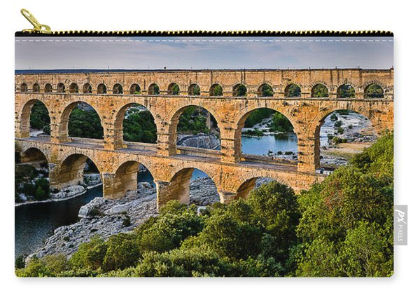 Aqueduct Pont Du Gard Carry-all Pouch
