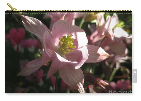 Aquilegia With A Heart Carry-all Pouch