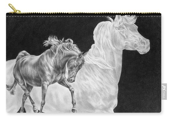 Arabian Horse Spirit Print Carry-all Pouch