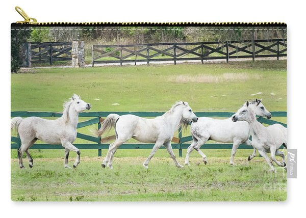 Arabian Horses Carry-all Pouch