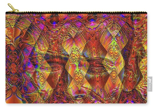 Carry-all Pouch featuring the digital art Arabian Nights Dream by Visual Artist Frank Bonilla