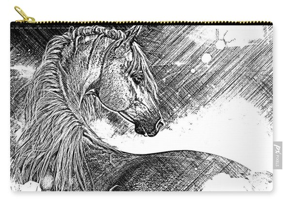 Arabian Sunrise Sketch Carry-all Pouch