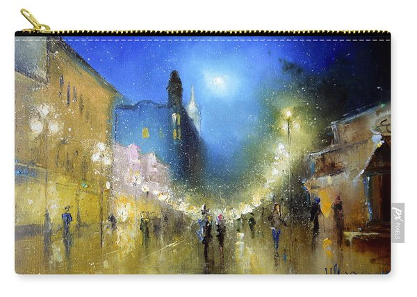 Arbat Night Lights Carry-all Pouch