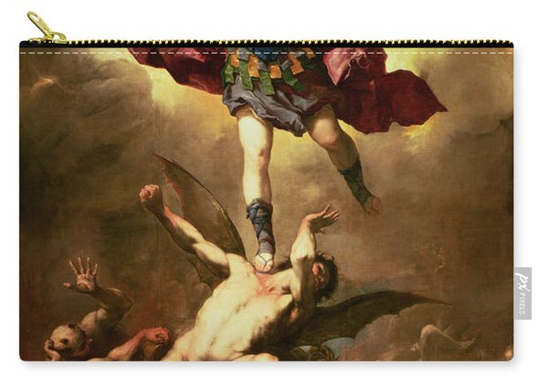 Archangel Michael Overthrows The Rebel Angel Carry-all Pouch