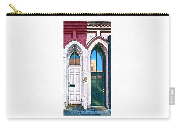 050 - Door One And Door Too Carry-all Pouch