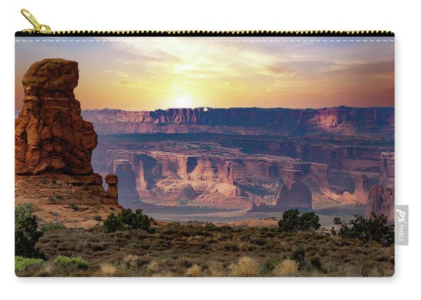 Arches National Park Canyon Carry-all Pouch