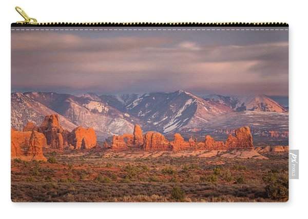 Arches National Park Pano Carry-all Pouch