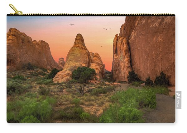 Arches National Park Sunset Carry-all Pouch