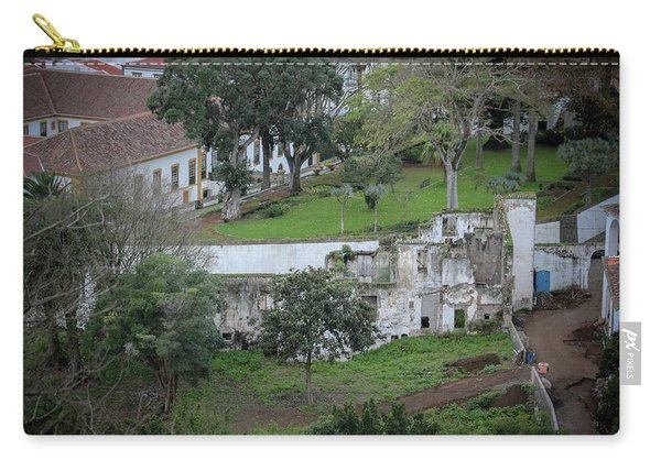 Architectural Ruins In Angra Do Heroismo Carry-all Pouch