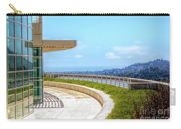 Architecture J. Paul Getty Museum California  Carry-all Pouch