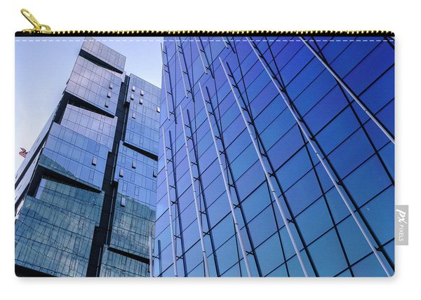 Architecture On The Streets Of Seattle Washington Carry-all Pouch