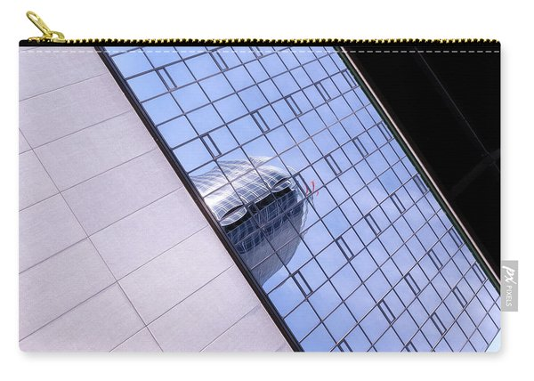 Architecture Photo On Its Side With Windows And Cement In Grand Rapids Michigan Carry-all Pouch