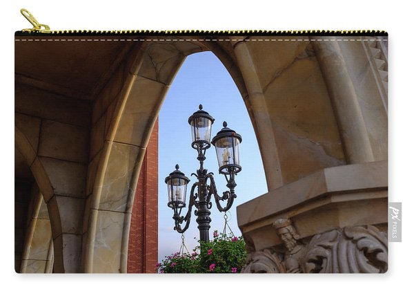 Archway And Lights In Orlando Florida Carry-all Pouch