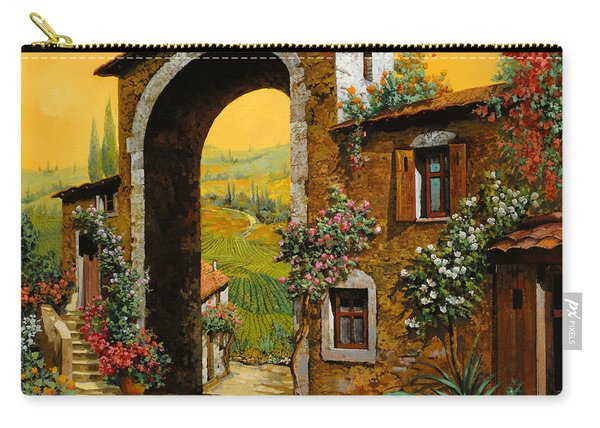 Arco Di Paese Carry-all Pouch