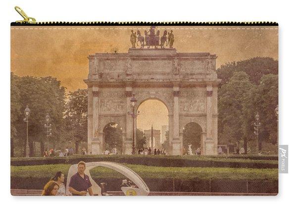 Paris, France - Arcs Carry-all Pouch