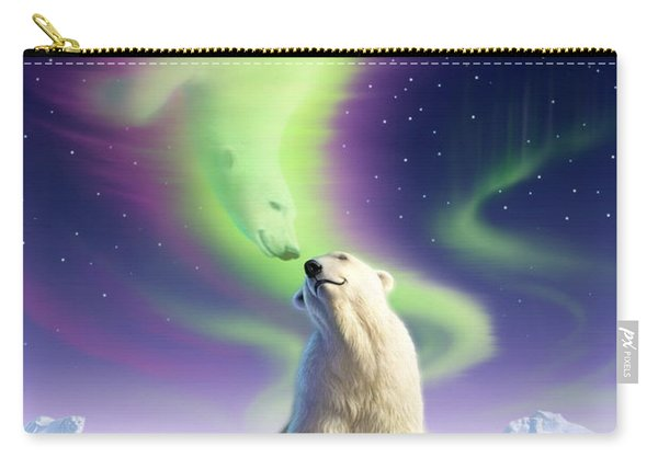Arctic Kiss Carry-all Pouch