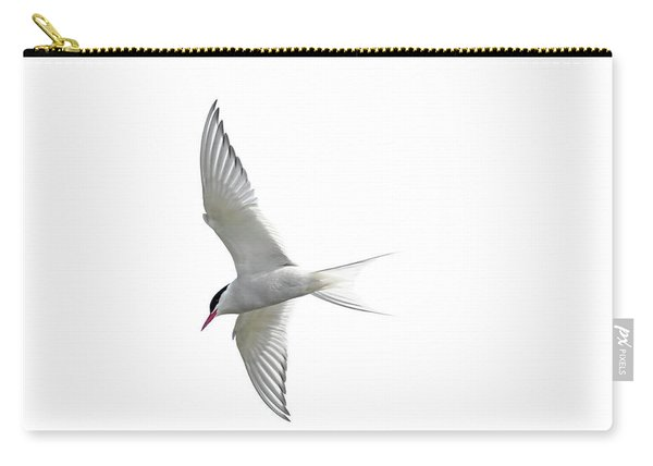 Arctic Tern Flying In Mist Carry-all Pouch
