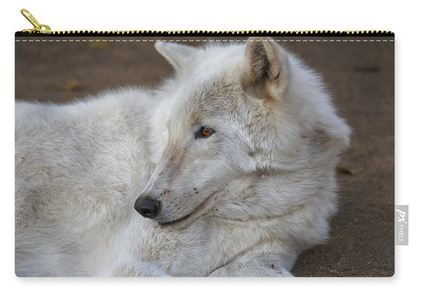 Arctic Wolf, San Diego Zoo Carry-all Pouch